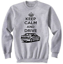 ALFA ROMEO 75 TURBO KEEP CALM P - COTTON GREY SWEATSHIRT ALL SIZES IN STOCK
