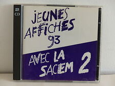 CD Compil Jeunes affiches SACEM 2 DENEZ PRIGENT NO ONE IS INNOCENT SKIPPIES