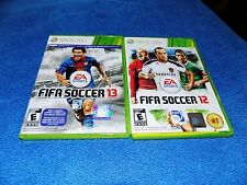 2X LOT FIFA SOCCER 12 & FIFA Soccer 13 Xbox 360,DISCS IN EXCELLENT SHAPE