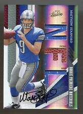 2009 ABSOLUTE MATTHEW STAFFORD RC ROOKIE RPM JERSEY AUTO #137/299