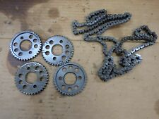 2003 Honda Interceptor VFR800 Time Timing Chain Gears Chains AND GUIDES 02-09