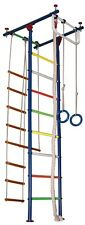 Shipboy-2C Children's Indoor Home Gym Swedish Wall Playground Set for Kids