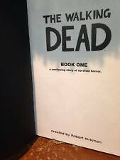Walking Dead Hardcover HC Books 1 & 2 in VG+++ Condition!