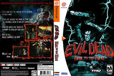 Evil Dead: Hail to the King CUSTOM DREAMCAST CASE (NO GAME)