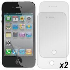 Pack 2 Films Protection d'Ecran pour Apple iPhone 4/4S