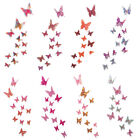 12pcs Sticker Art Design 3D Decal Wall Stickers Home Room Decor Butterfly New
