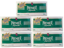 Premier Supermatic 100s 100mm Menthol Cigarette Filter Tubes 5 Boxes - 3133-5