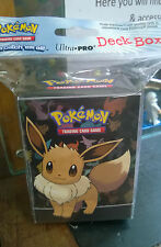 Pokemon Eeveel Deck Box Card Protection for Pokemon Trading cards Sealed pack