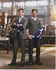 DREW & JONATHAN SILVER SCOTT Signed PROPERTY BROTHERS Photo w/ Hologram COA