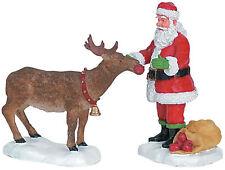 Lemax Decoración 'Reno Tratamiento', De Pasteles Navideños Santa Navidad Figura