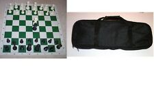 4 of CARYALL CHESS BAG TOURNAMENT PIECES 2 QUEENS BOARD SETs