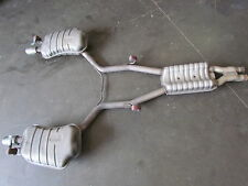 2006 Audi A8L Exhaust Muffler And Resonator Assembly