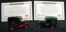 Matchbox Collectible Brewery Cars-HOLY COW! & OZARK Brewing Company-COA