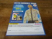 MORRISSEY - 25 live !!! Publicité de magazine / Advert !!!