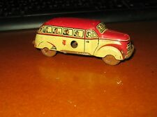 Auto Blech  Blechauto Bus Original TCO TippCo Made in U.S.Zone Germany