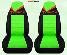 cc Chevy GMC  Xtreme Highback bucket front car seat covers eXtreme Chevrolet
