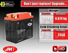 Upgrade Yuasa Lead-acid 12N7-4A to LITHIUM 364% more Cranking & 2.1 kg less