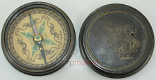 Antique Maritime Vintage Best of Ross London Compass Sundial Collectible Vintage