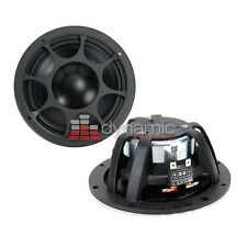 "Morel Elate MW 6 Ti Car Audio Mids 6.5"" Titanium Midrange Bass Drivers Pair New"