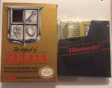 LEGEND OF ZELDA- GOLD cartridge (Nintendo) Awesome Cond. Cart + Box