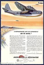 1942 Nash Kelvinator advertisement, Vought-Sikorsky VS-44 Flying Boat
