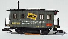 ARISTO CRAFT TRACK CLEANING CAR. ART46950, LIGHTLY USED G SCALE