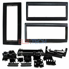 Chevrolet Single Din/ISO Pocket Radio Dash Mounting Install Kit Replacement