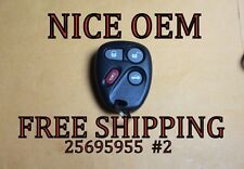 OEM FACTORY GM GMC KEYLESS ENTRY REMOTE FOB TRANSMITTER KOBLEAR1XT 25695955 #2