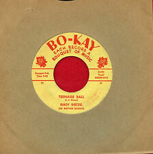 "ELROY DIETZEL ""Teenage Ball/Precious Desires"" Bokay 101 VG Rockabilly ORIG Hear!"