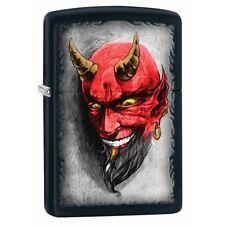 Zippo 28862 devil with horns black matte full size Lighter