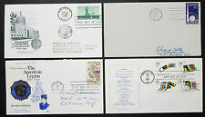 US postage set of 4 covers Letters American Legion Stamp FDC USA lettere (h-8317