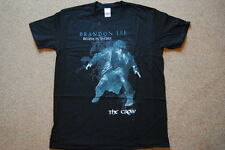THE CROW BRANDON LEE BELIEVE IN ANGELS T SHIRT MEDIUM NEW OFFICIAL ERIC DRAVEN