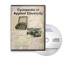Cyclopedia of Applied Electricity - Historic 7 Volume Set on CD - D219