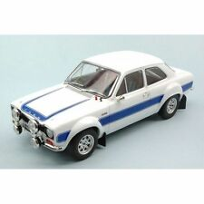 TRIPLE 9 - FORD ESCORT MK1 RS2000 WHITE WITH BLUE RS STRIPES 1:18 SCALE