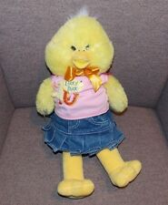 "19"" Build A Bear Workshop BABW Yellow Lucky Duck Plush Stuffed Animal Clothing"