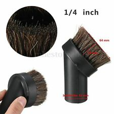 "1/4"" Universal Horse Hair Dusting Brush Fit 1.25"" Attachment Vacuum Cleaner Tool"