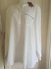Ladies Blouse Designed By TG SIZE 30 In Cream Colour.New With Tag