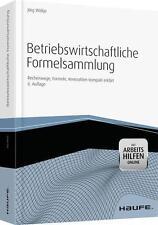 Betriebswirtschaftliche Formelsammlung, m. CD-ROM