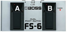 Boss FS-6 Dual Foot Switch Combined momentary or latching Brand New In Box
