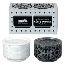 Mini Moderns Salt and Pepper Pinch Pots