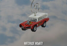 The Monkees 1966 Pontiac GTO Wagon Monkee Mobile Christmas Ornament Monkeemobile