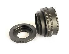 M42 Mount Focusing Helicoid Ring 17-31mm Macro Extension Tube + M4/3 Adapter