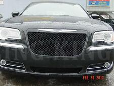 Chrysler 300 BLACK Chrome Mesh Bentley Grille Grill bently 2011 2012 2013 2014