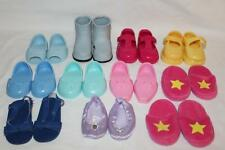 "18"" doll shoes lot~11 pair~BATTAT~Fits American Girl Magic Attic Our Generation"