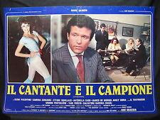 FOTOBUSTA CINEMA - IL CANTANTE E IL CAMPIONE - M. DAIMON - 1984 - MUSICALE - 02