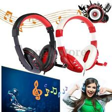 NEW VP-X9 USB Stereo Headphone Headset Earphone w/ Microphone Mic for PC Laptop