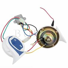 12V 110db Electric Snail Car Horn Claxon Horns Motorcycle Horn Magic 22 Sounds