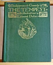Shakespeare's Comedy of The Tempest 40 illustrations by Edmund Dulac 1908 1st ed