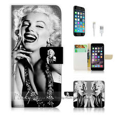 iPhone 7 (4.7') Flip Wallet Case Cover P1371 Marilyn Monroe