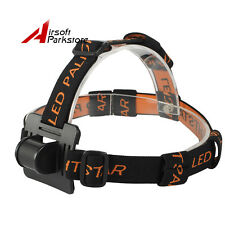PALIGHT Soft Adjustable HeadLight Band Flashlight Lamp Strap for Fishing Hunting